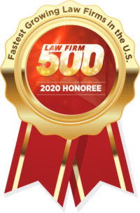 2020 Law Firm 500 Honoree