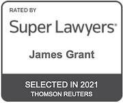 James Grant Rated by Super Lawyers