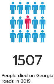 1507 people died in car accidents